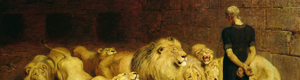 Love of Torah Daniel and the Lions Den